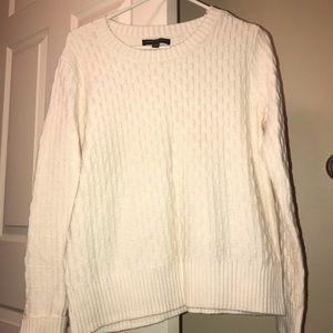 Banana republic cream sweater pullover